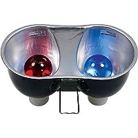 Zoo Med Laboratories LF25 Combo Deep Dome Dual Lamp Fixture