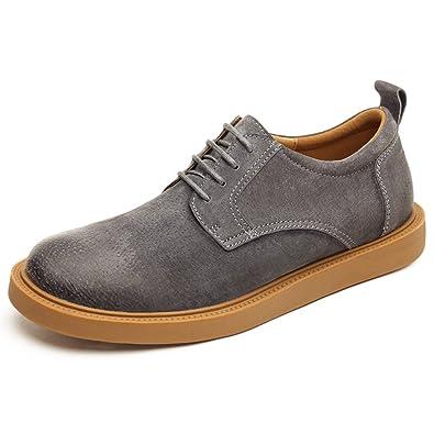 Men's Leder Freizeit Sehnen Schuhe Dress Herbst Business Outdoor Mode  Rutschen Schwarzbraun: Amazon.de: Schuhe & Handtaschen