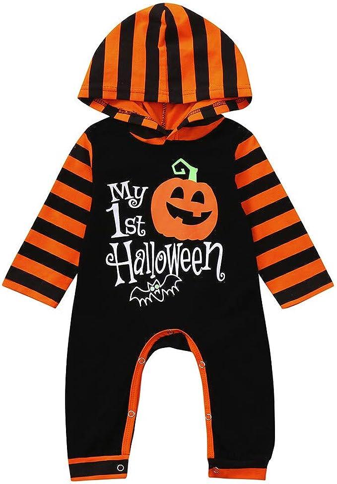Fossen Disfraz Halloween Bebe Niña Niño Calabaza Peleles My First ...