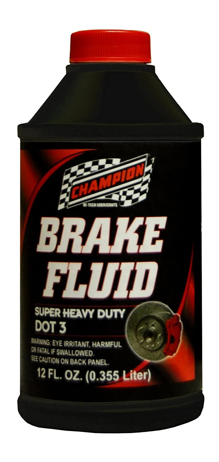Champion Brands 4057K-EACH 'DOT-3' Brake Fluid - 12 oz.