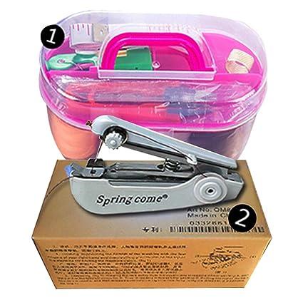 Múltiples Kit de costura caja organizador de mano máquina de coser Set
