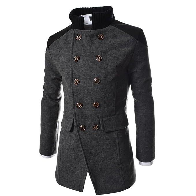 cappotto da uomo di pile spesso caldo con cappuccio