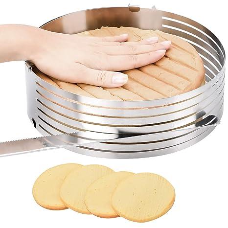 Amazon.com: Molde para tartas con nivelador de pasteles ...