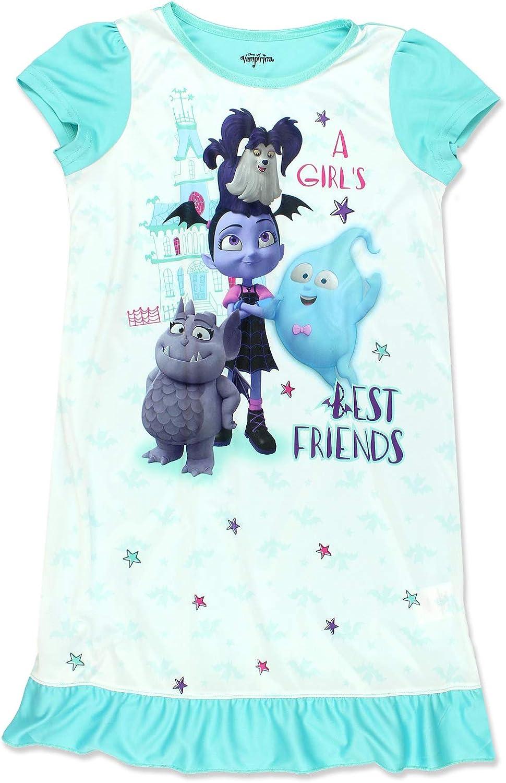 Disney Vampirina Girls Short Sleeve Nightgown Pajamas