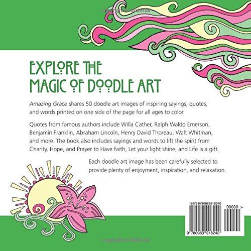 Amazon.com: Amazing Grace: Coloring Book (Doodle Art Alley Books ...