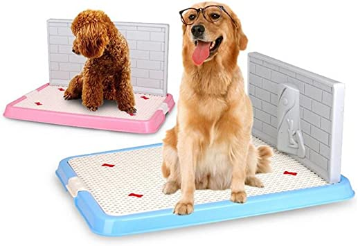 Kondrao Dog Pet Potty Puppy Toilet With Simulation Wall For Male Dog Pee Training Pad Indoor Outdoor S 002 Amazon Co Uk Pet Supplies
