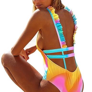 1712669d21fa Traje De Baño De Mujer, RETUROM Bañadores Bikinis Correa del Pecho ...