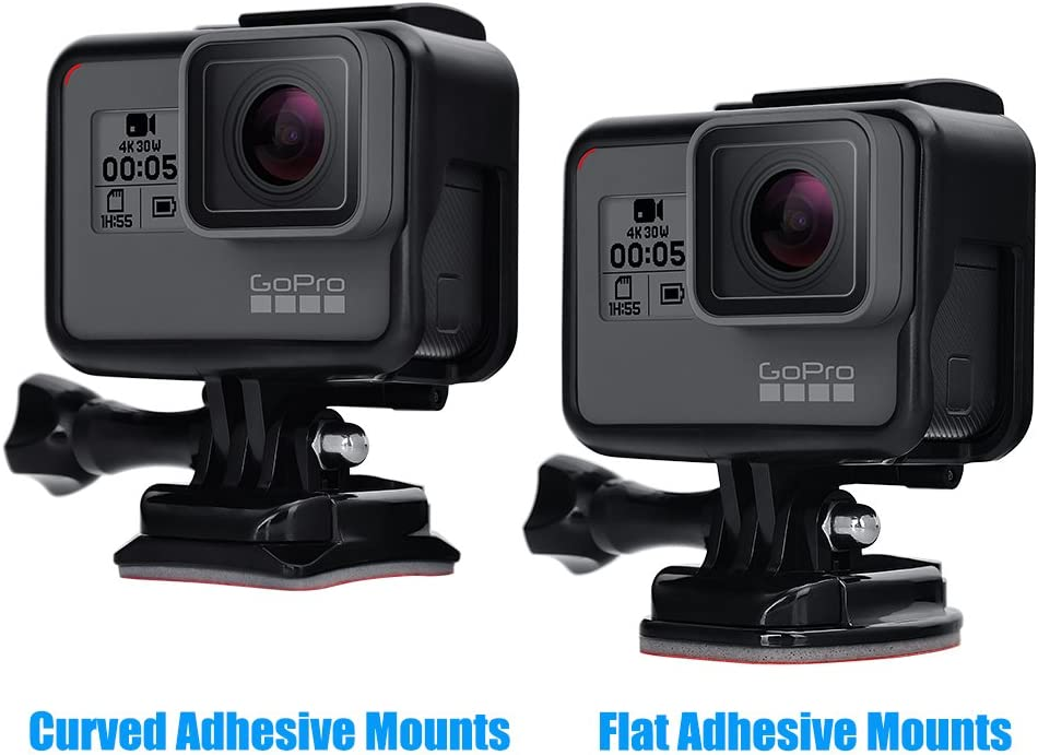 Xiaoyi and Other Action Cameras Hsifeng //3//2 //1 Hsifeng Dual Grip Handle Stabilizer Aluminum Mount Bracket for GoPro New Hero //HERO6 //5//5 Session //4 Session //4//3