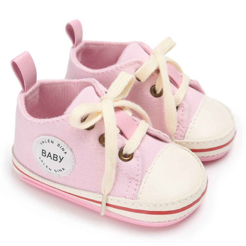 Weixinbuy Baby Boy Girl Vintage Classic Lace-up Casual Running Sneaker Shoes