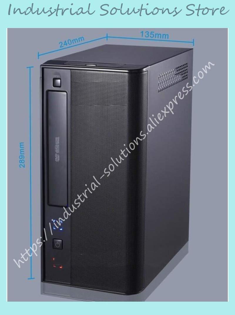 Fevas New Mini Computer Case Industrial Computer Case Htpc Hd Host Computer Case D525 D2700 Motherboard