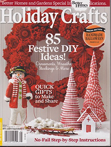 Better Homes and Gardens Holiday Crafts Magazine 2014