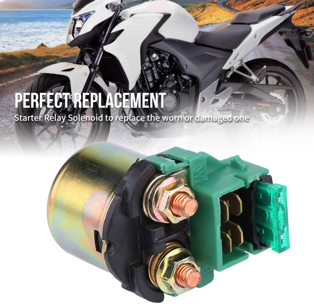 XL600 KSTE Soleno/ïde Motocycle de d/émarrage Compatible with VT600 NX250 VF750 CB400F GB500 NT650