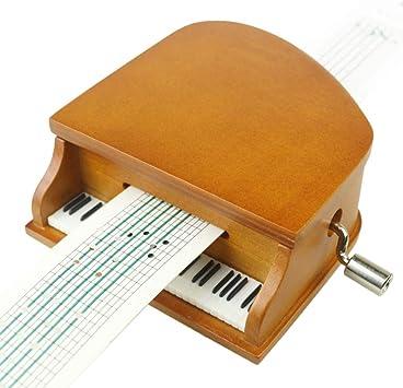 RANYNAD Cinta De Papel Diy Cajas Musicales Caja De Música De Piano ...