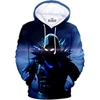 DUHUD Unisex 3D Graphic Print Hoodie
