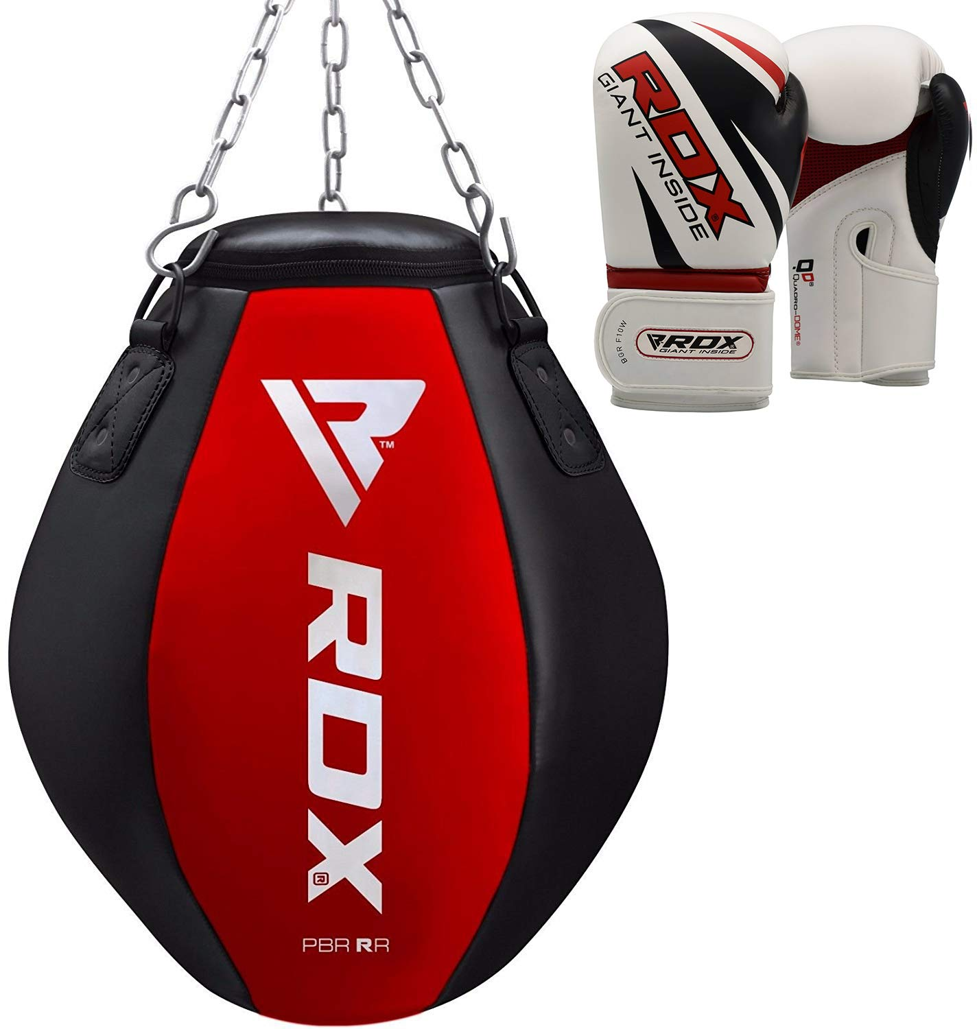 ULTRA FITNESS EMPTY and UNFILLED Punch Bag MMA Training Muay Thai with Chain