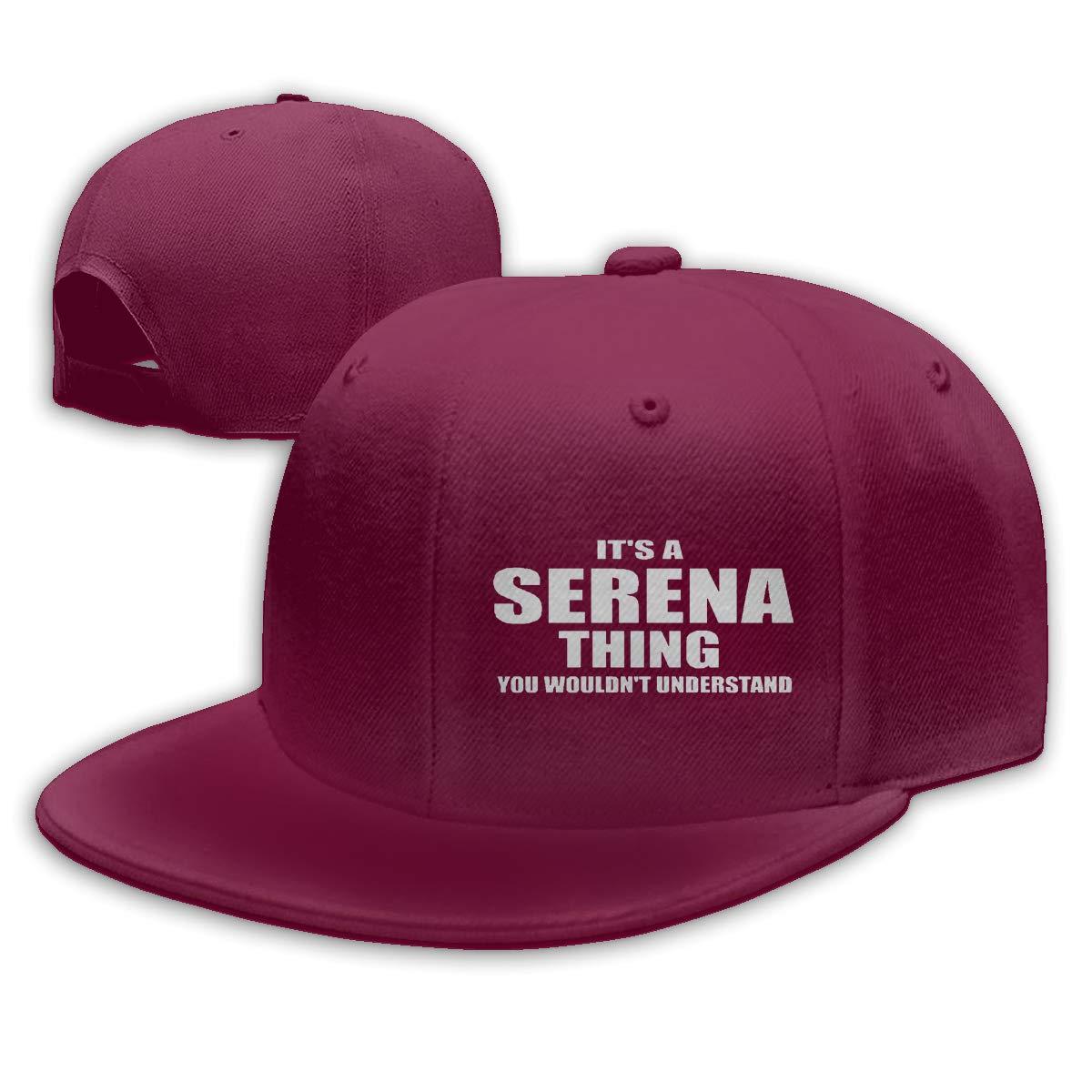 Haggai Romeo Unisex Tennis S-Erena W-illiams Snapback Baseball Cap Flat Brim Hip Hop Hat Adjustable Dad Hat