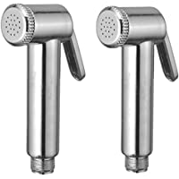 SBD Health-free Teflon Tape Hand Faucets/Spray Gun (Silver) - Pack of 2