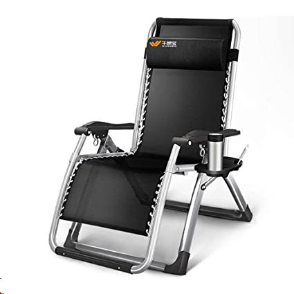 Amazon.com: ZHIRONG - Silla reclinable de tumbona, plegable ...