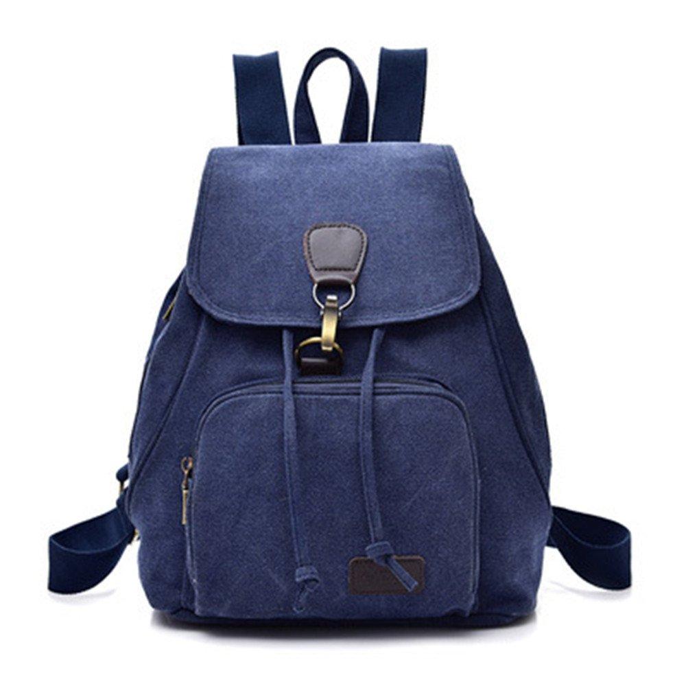 Mochila de lona minimalista Sra. students mochilas escolares hombros paquete Moda, Recreación,A mochila: Amazon.es: Equipaje