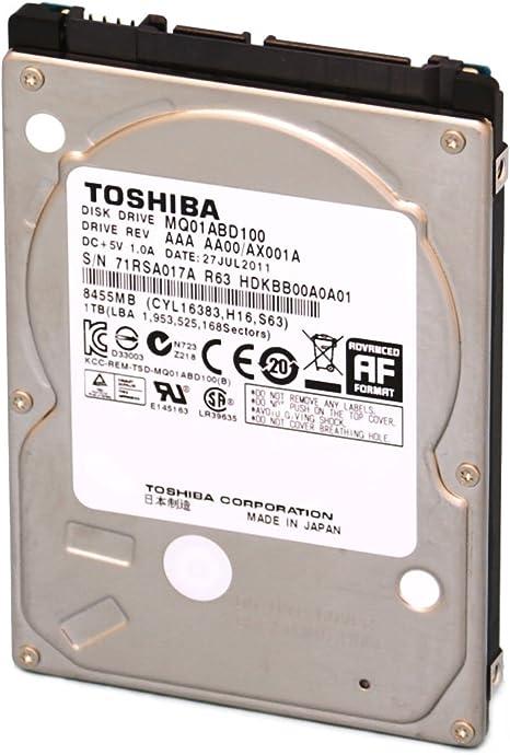 Toshiba MQ01ABD050 - Disco Duro Interno de 500 GB: Amazon.es ...