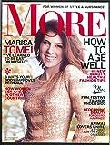 MORE Marisa Tomei Elizabeth McGovern Sonia Kashuk 12 2012 - 1 2013