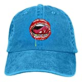 Sexy Lips Adult Cowboy Hat Baseball Cap Adjustable Athletic Design Best Hat for Men and Women