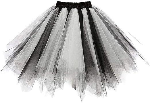 Aysimple - Falda corta de tul para mujer y niña: Amazon.es: Ropa y ...