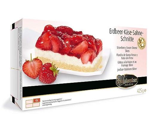 Erlenbacher Erdbeer Kase Sahne Schnitte Dessert Kuchen Tk 425g