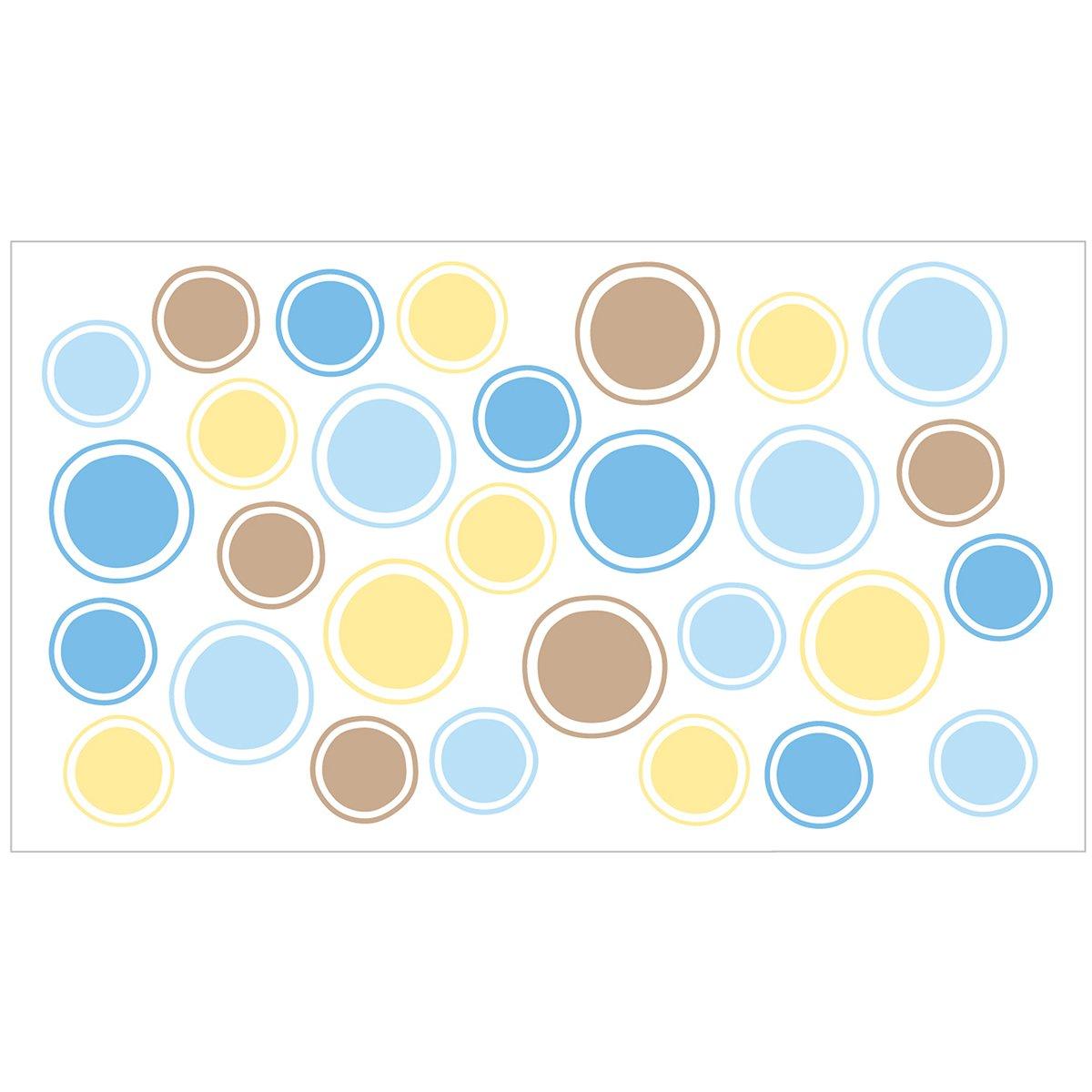 Ubbi Diaper Pail Decal (Bubbles/Blue) BabyCenter UBBIDECALBUBBLUE