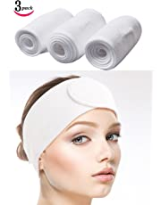 Sinland Microfiber Headband Women Hair Band Fashion Soft White 3pcs