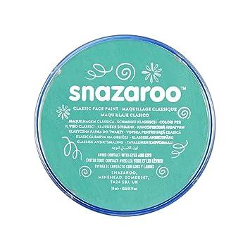 Snazaroo - Pintura facial y corporal, 18 ml, color azul marino: Amazon.es: Juguetes y juegos