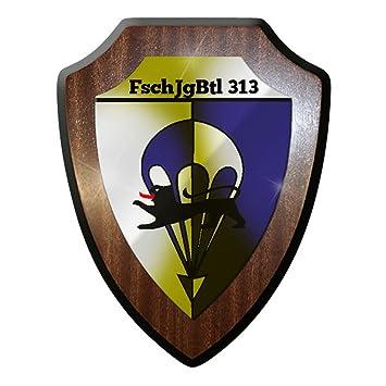 FschJgBtl 313 Fallschirmjäger #8329 Wappenschild Wandschild Wappen