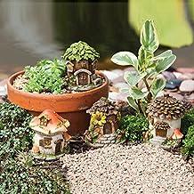 Mini Fairy Houses Set Of 4