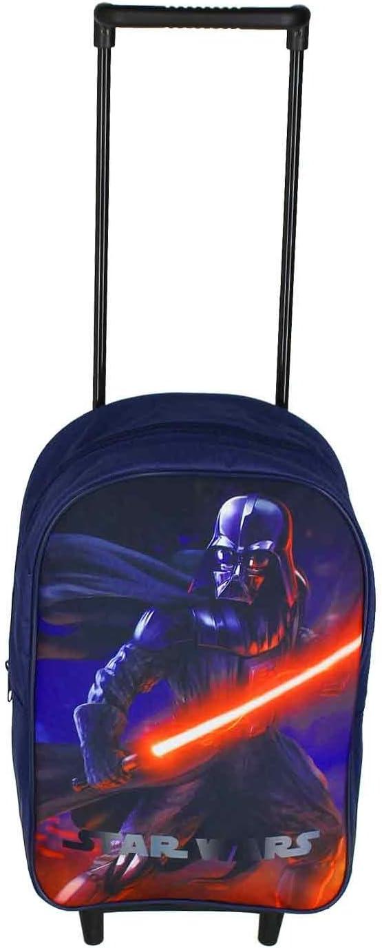 Star Wars - Maleta Infantil con Ruedas, diseño de Darth Vader