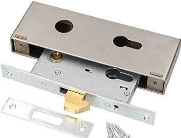 KOTARBAU 72/30 - Cerradura de gancho para puerta corredera, galvanizada, resistente a la corrosión: Amazon.es: Bricolaje y herramientas