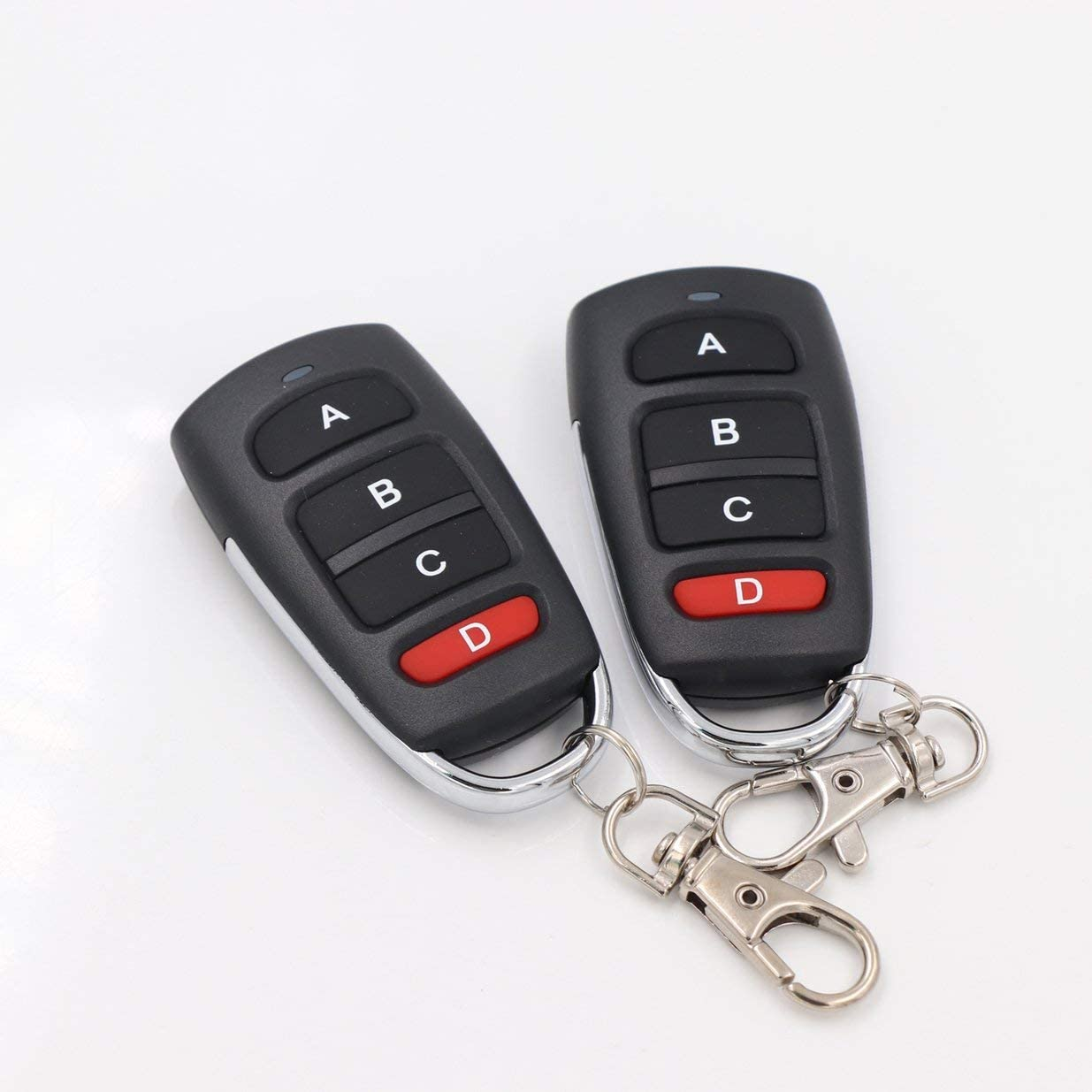 Sairis Copy mando a distancia 433,92 MHz Cloning Duplicator Wireless 4 llaves universal impermeable mango garaje puerta el/éctrica llave negro