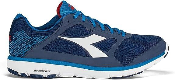 Diadora Zapatillas Running Zapatillas Jogging Hombre X Run Saltire Marino/Azul Bamb, Hombre, Azul Navy: Amazon.es: Deportes y aire libre