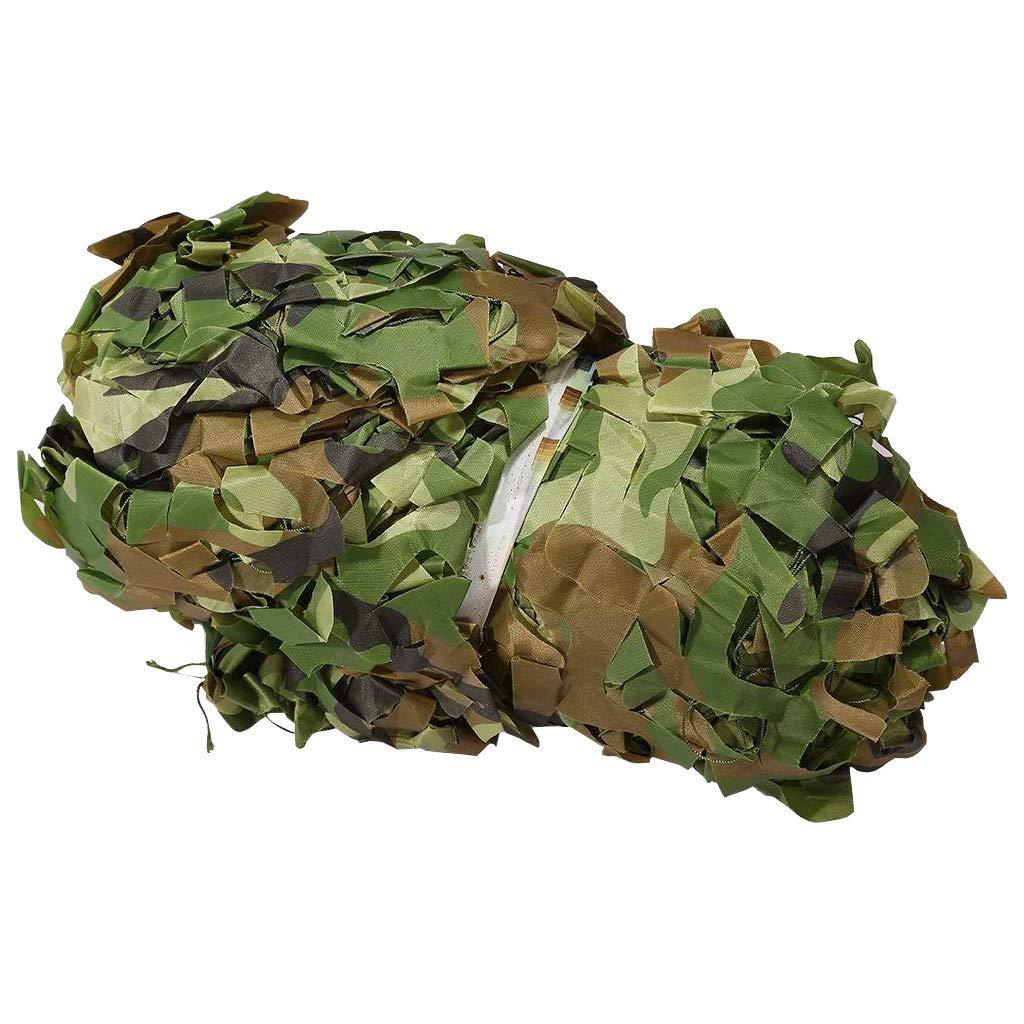 410m HCYTPL BÂche Camouflage Filet Anti-UV Résistant Couverture De Voiture Tente Jungle Masquer Thème Parti Décoration,4  6m