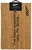 James Bond I'Ve Been Expecting You Doormat, Coir, Multi-Colour, 40 x 60 cm