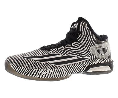 the latest 5e7d6 9b7c5 ... best price adidas mens crazy light boost 10.5 white silver black s85472  98396 4e651