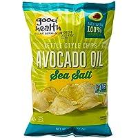 Good Health Kettle Style Avacodo Oil Potato Chips with Sea Salt, 5 oz