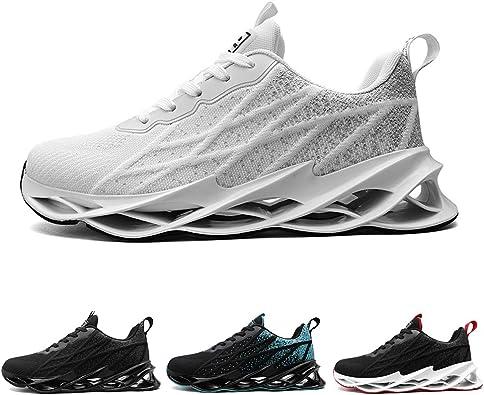 Zapatillas Running Hombre Tenis de Deportivas Casual para Correr Gimnasio Bambas 40-47EU: Amazon.es: Zapatos y complementos