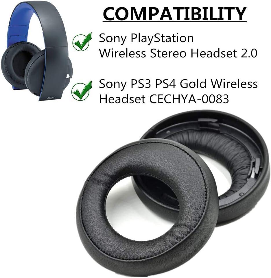 Almohadillas de repuesto para auriculares Sony PS3 PS4 ...