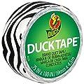 """Shurtech Mini Duck Tape, 0.175"""" by 15', Zebra"""