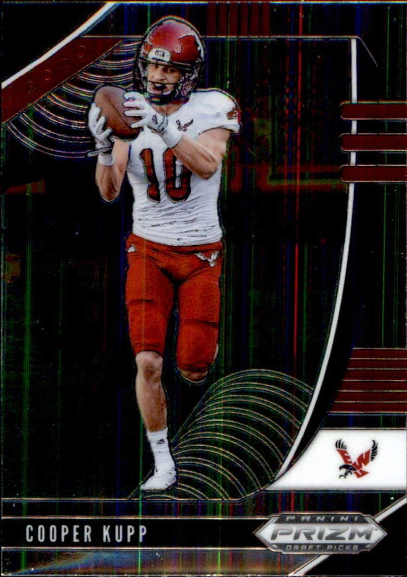 Amazon Com 2020 Panini Prizm Draft Picks 19 Cooper Kupp Eastern Washington Eagles Football Card Collectibles Fine Art