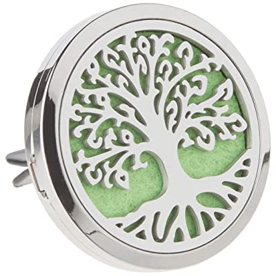 "CHIDRA Life Tree Car Essential Oil Diffuser,1.5"" Aromatherapy Essential Oil Vent Clip,Fragrance Locket-Waterless & Wireless: Automotive"