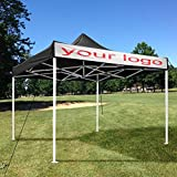 Pop Up Canopy Commercial Tent Sun Shade Shelter w/Carry Bag 10' x 10'