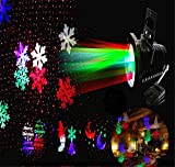 L&T STAR Christmas Outdoor LED Lights Christmas Projection Lamp Garden Lawn Lamp Caoping Deng Snow Lights