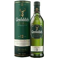 Glenfiddich Single Malt Scotch Whisky 12 Jahre – der am häufigsten ausgezeichnete Malt Scotch Whisky der Welt, 1 x 0,7l, 40% Vol.