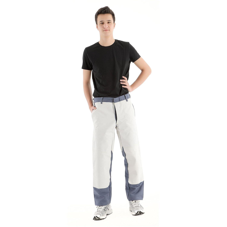 Rensing pantalones pantalones de trabajo de soldadura tamaño intermedio corto tamaño equipos Flammentin elección tamaño de corte de cuero , Größe:24: ...